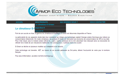 Armor Eco Technologies website